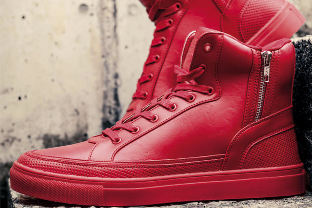 Rote Sneaker Heren Trend 2016 | Wie Rote Sneaker kombinieren?
