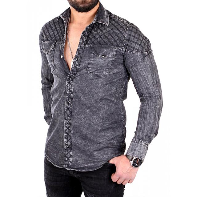 jeanshemd kombinieren mann wie kombiniert ihr richtig blog. Black Bedroom Furniture Sets. Home Design Ideas