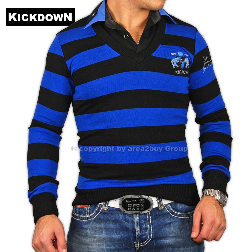 geiles kickdown 2in1 pullover hemd pulli blau 1970 ebay. Black Bedroom Furniture Sets. Home Design Ideas