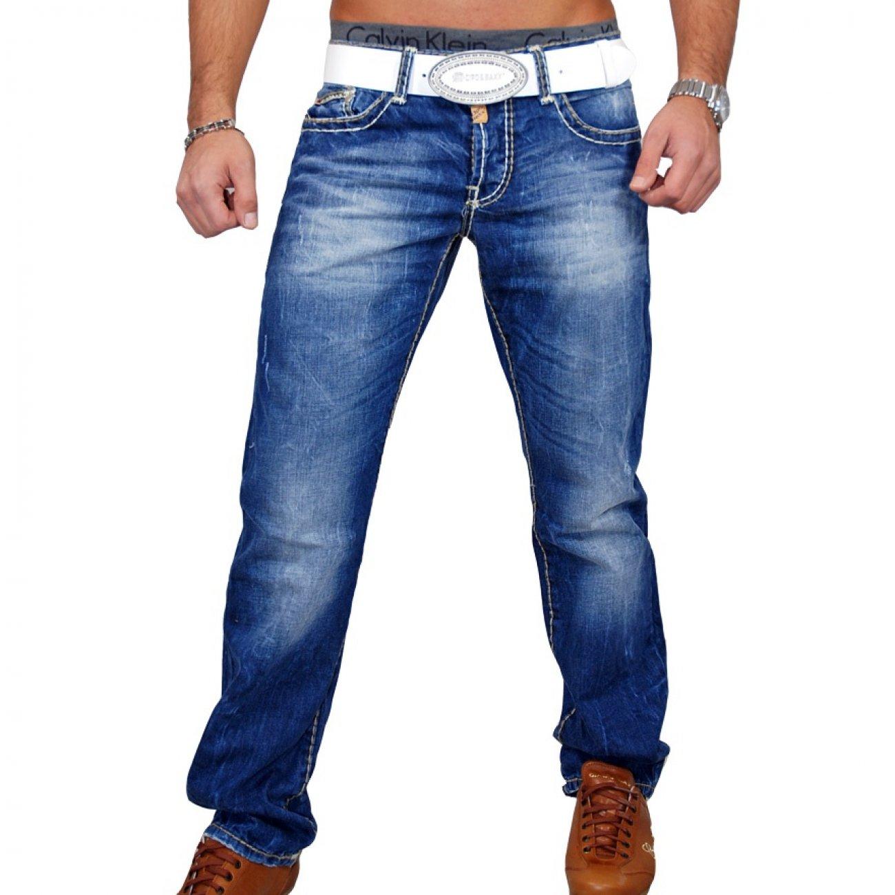 cipo baxx c 688 jeans herren blau herren jeans kaufen. Black Bedroom Furniture Sets. Home Design Ideas