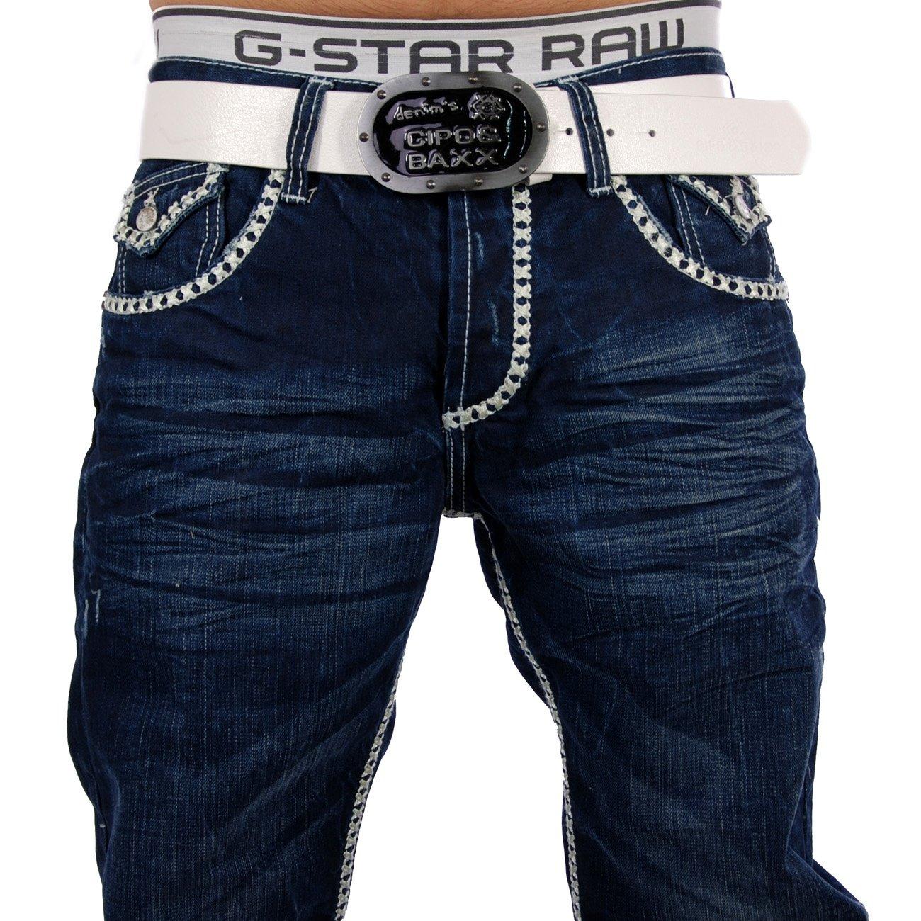 herren jeans d blau cipo baxx c 795 g nstig kaufen. Black Bedroom Furniture Sets. Home Design Ideas