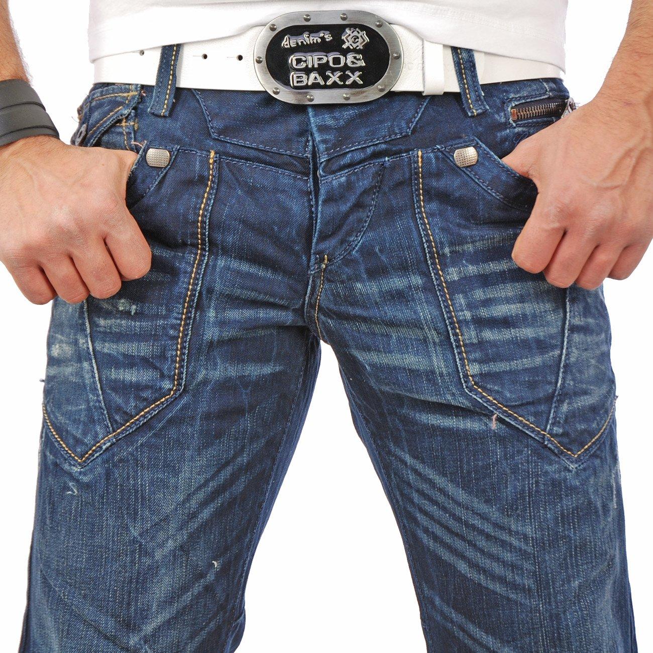 cipo baxx jeanshose herren club c 823 hosen g nstig. Black Bedroom Furniture Sets. Home Design Ideas