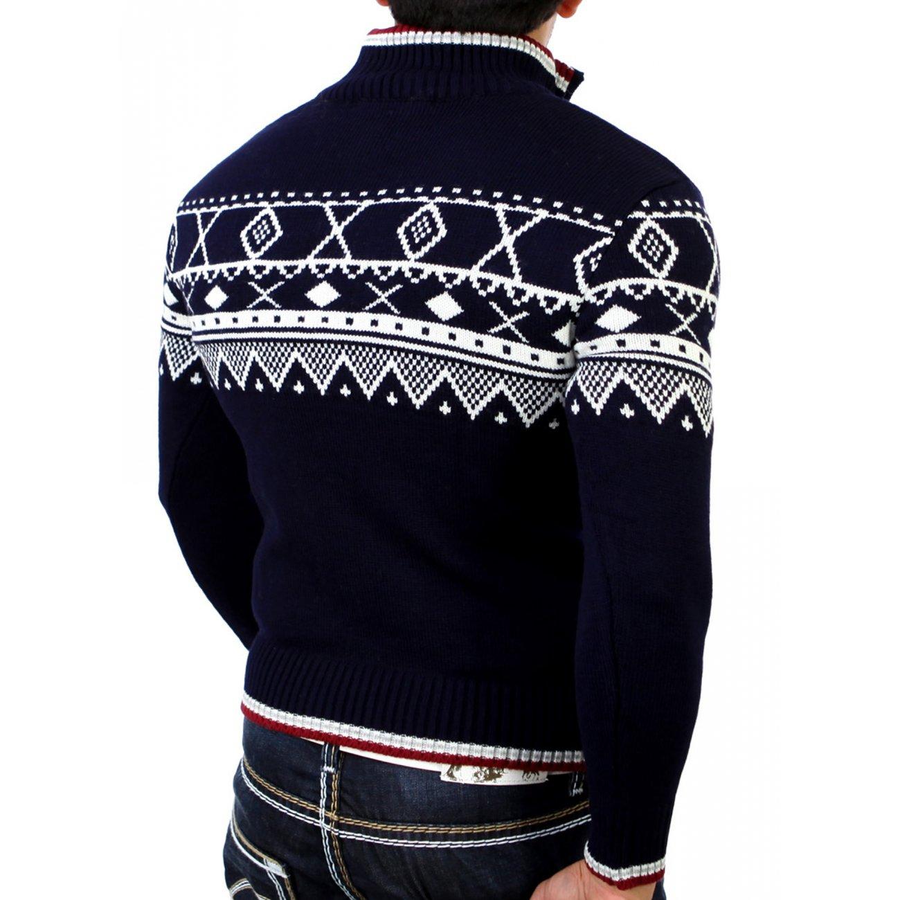 cipo baxx norweger pullover c 6343 strickpullover kaufen. Black Bedroom Furniture Sets. Home Design Ideas