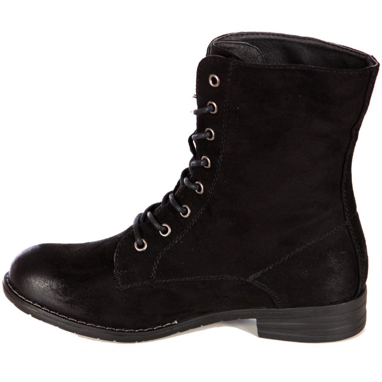 damen stiefeletten schn rer in 3 farben winter boots wildleder. Black Bedroom Furniture Sets. Home Design Ideas