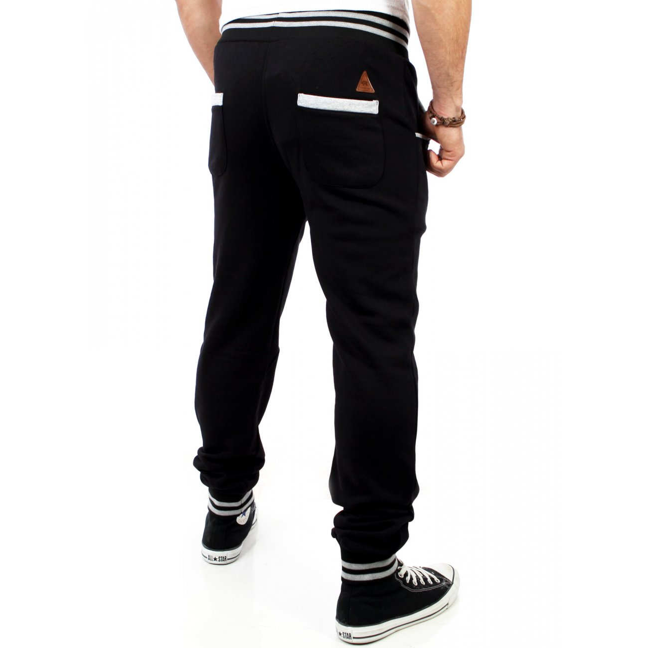 jogginghose herren buttoned reslad sweatpants g nstig. Black Bedroom Furniture Sets. Home Design Ideas