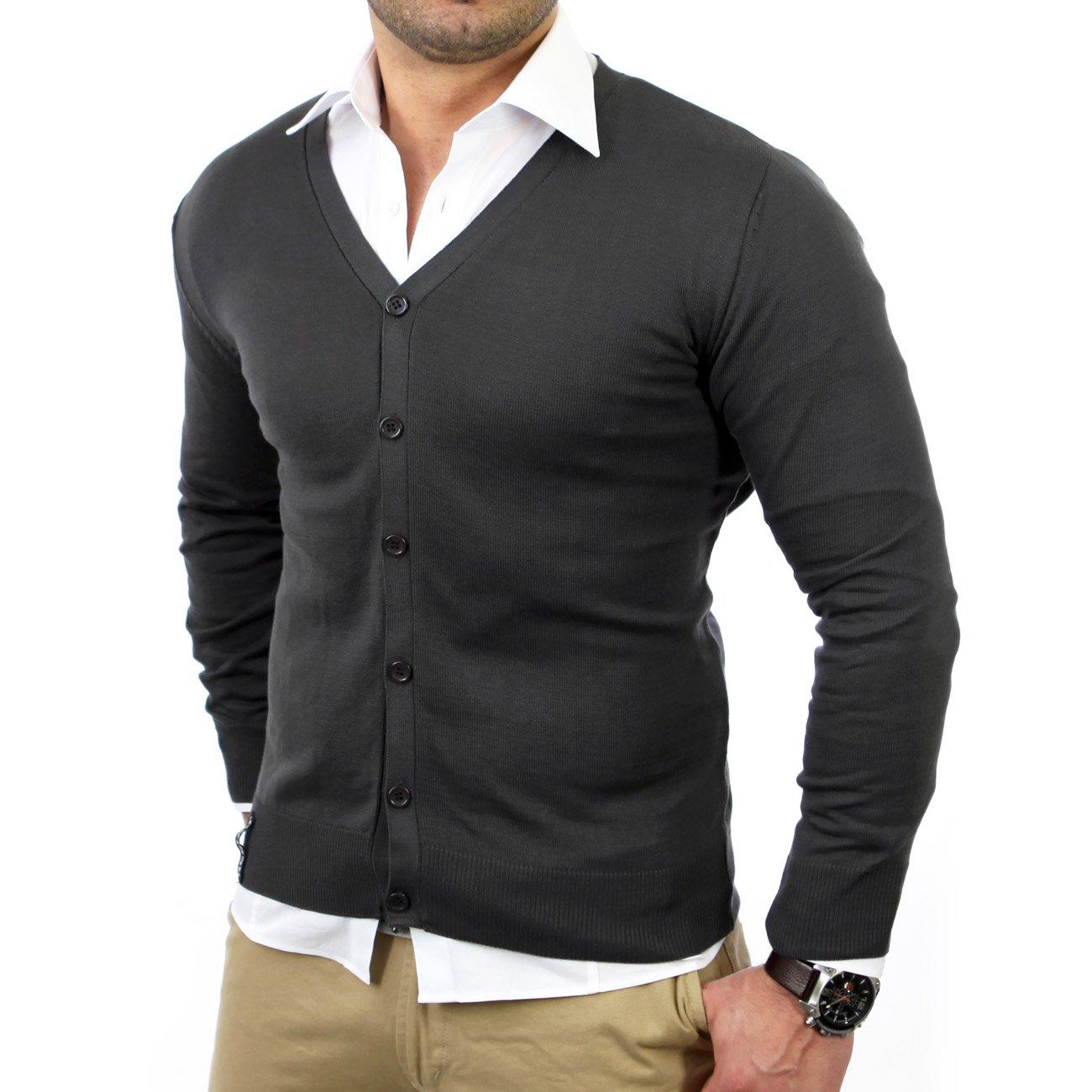 herren cardigan schwarz lang cashmere sweater england. Black Bedroom Furniture Sets. Home Design Ideas