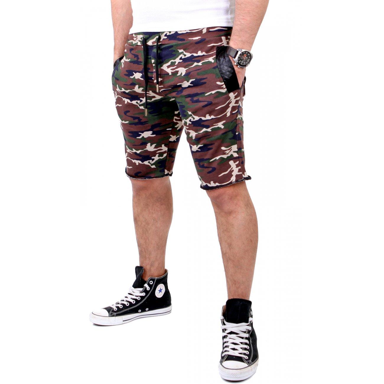 shorts herren camouflage reslad bermuda sweatpants kaufen. Black Bedroom Furniture Sets. Home Design Ideas