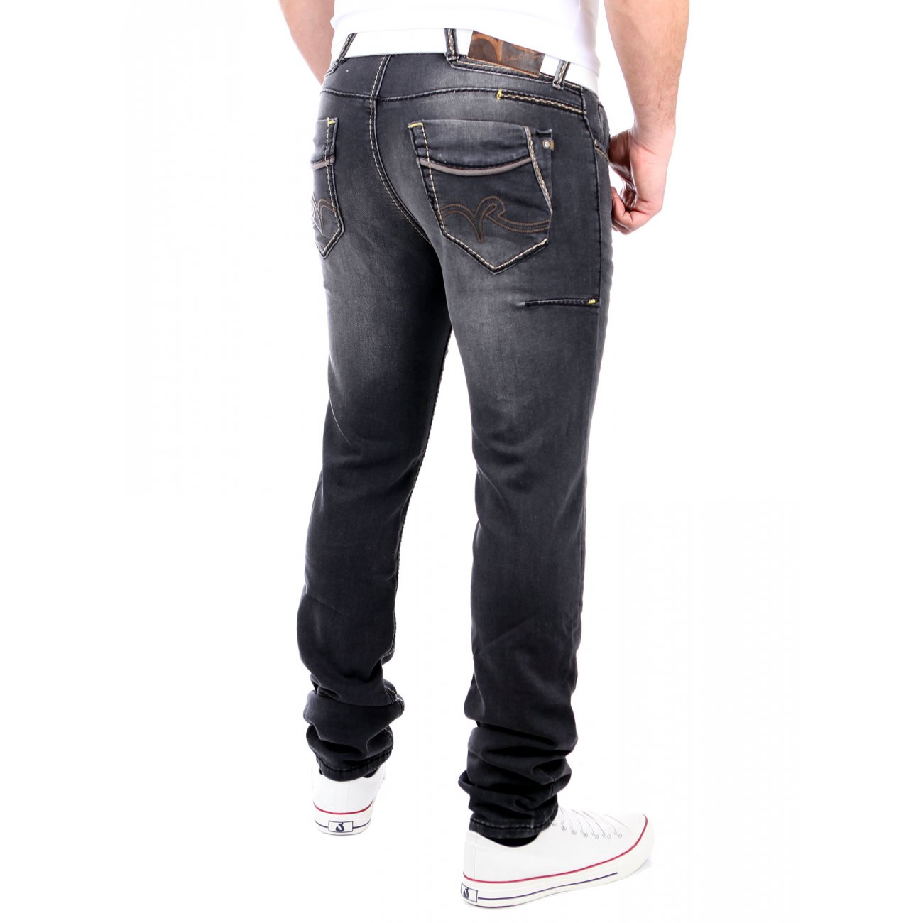 rusty neal jogg jeans herren used look jogging jeans hose rn 7627 4 s. Black Bedroom Furniture Sets. Home Design Ideas