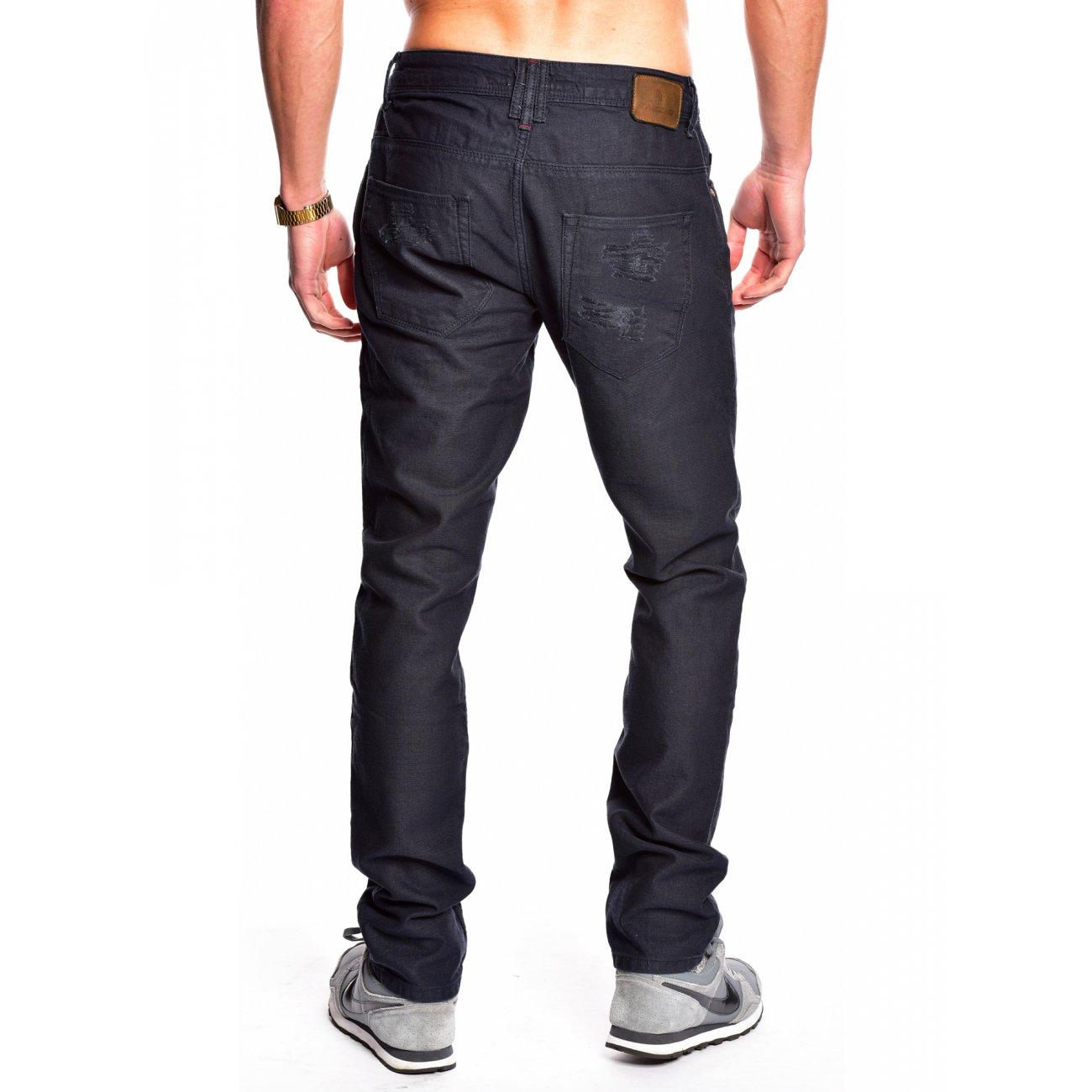 herren jeans dunkelblau tazzio 505 jeans herren g nstig. Black Bedroom Furniture Sets. Home Design Ideas