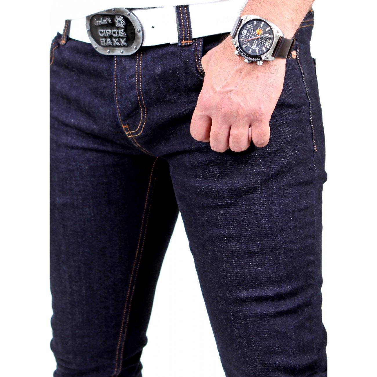 enge jeans blau tazzio denim 500 skinny jeans kaufen. Black Bedroom Furniture Sets. Home Design Ideas