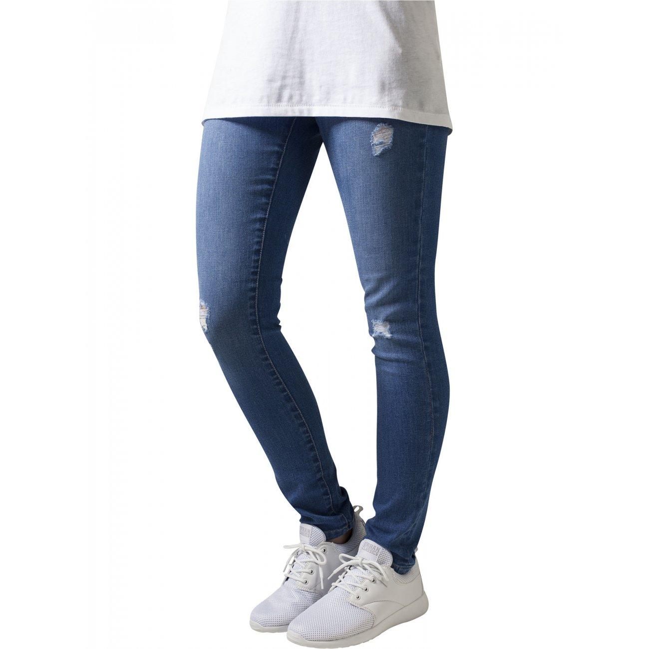 urban classics jeanshose damen ripped destroyed look tb 1362. Black Bedroom Furniture Sets. Home Design Ideas