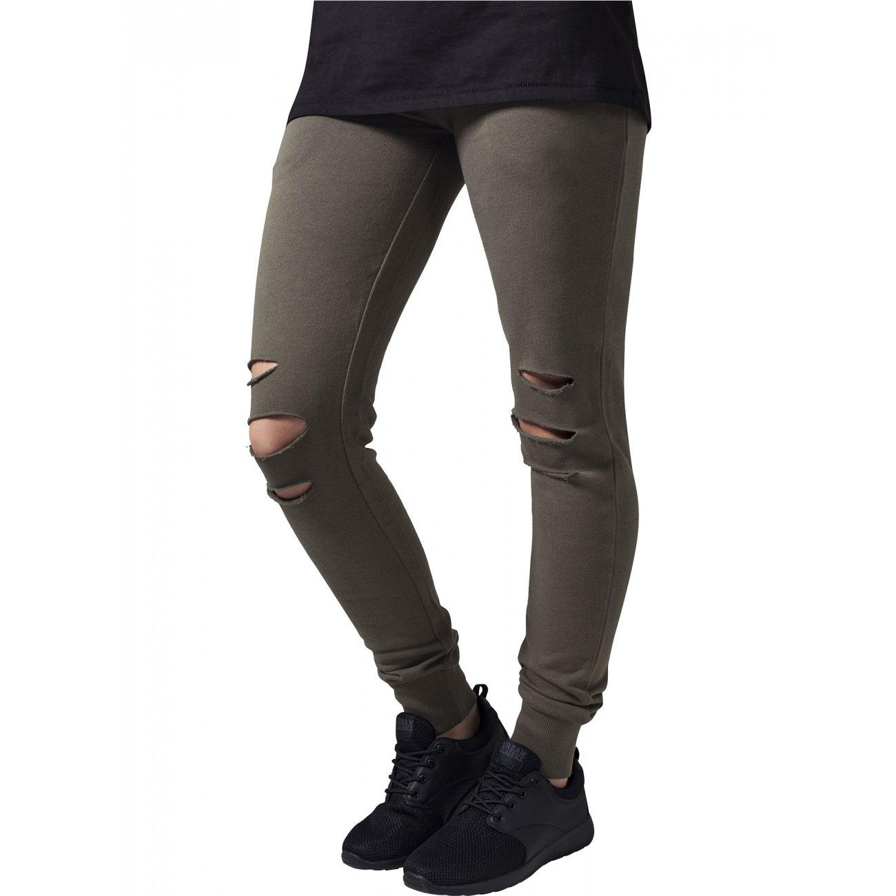 urban classics jogginghose damen cutted terry sporthose tb. Black Bedroom Furniture Sets. Home Design Ideas