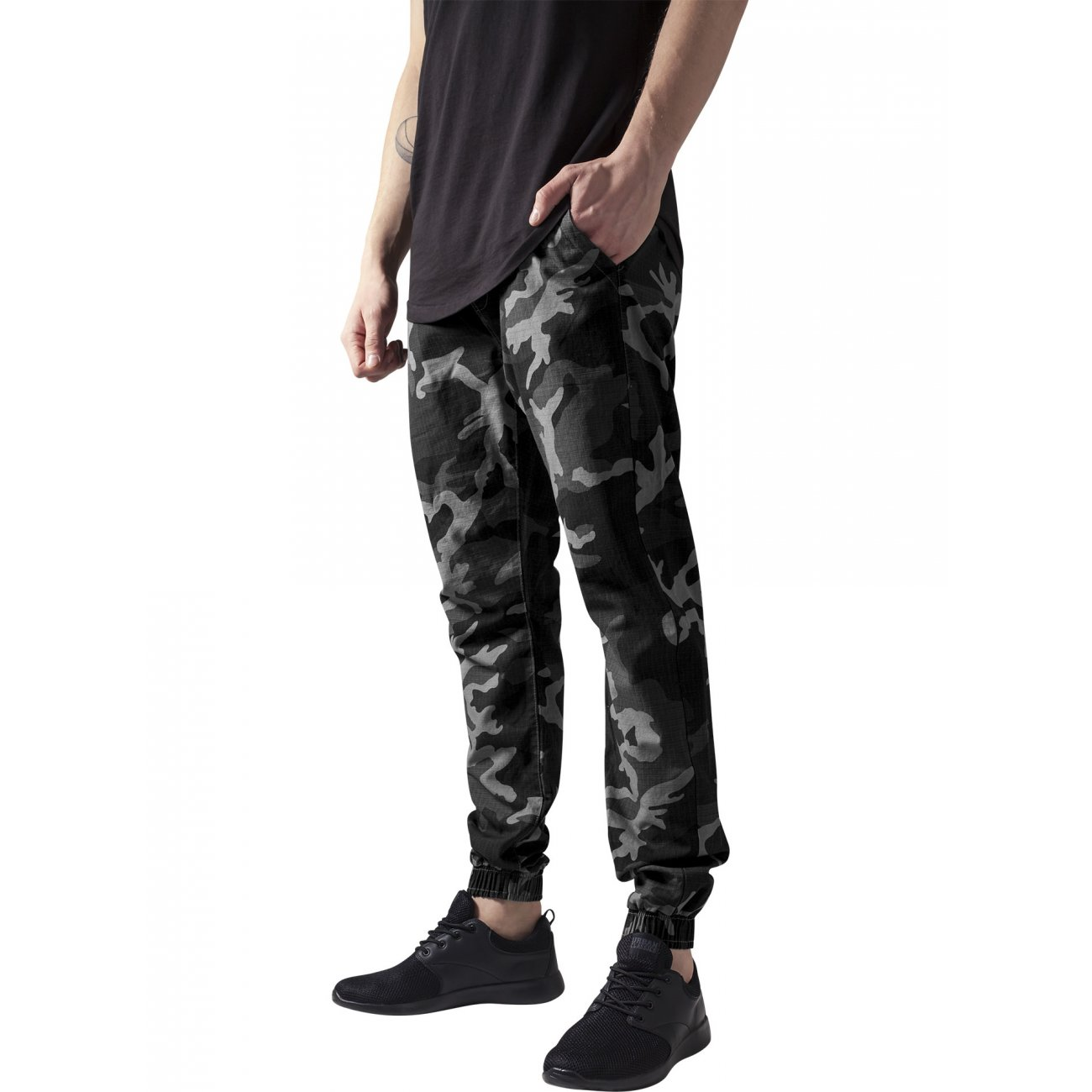 urban classics camouflage jogginghose camo herren ripstop tb 1148. Black Bedroom Furniture Sets. Home Design Ideas
