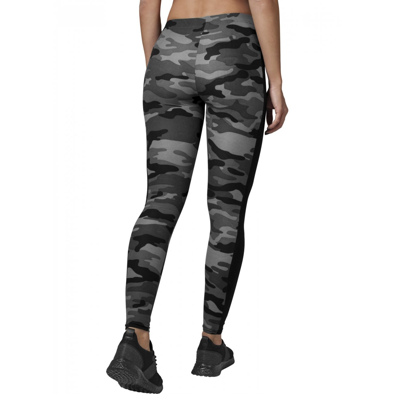 camouflage leggings urban classics damen stripe damen hose. Black Bedroom Furniture Sets. Home Design Ideas