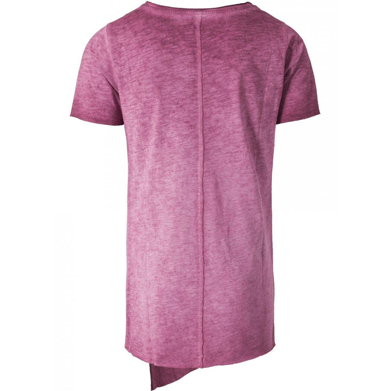 urban classics t shirt asymetric long spray dye tb 1232. Black Bedroom Furniture Sets. Home Design Ideas