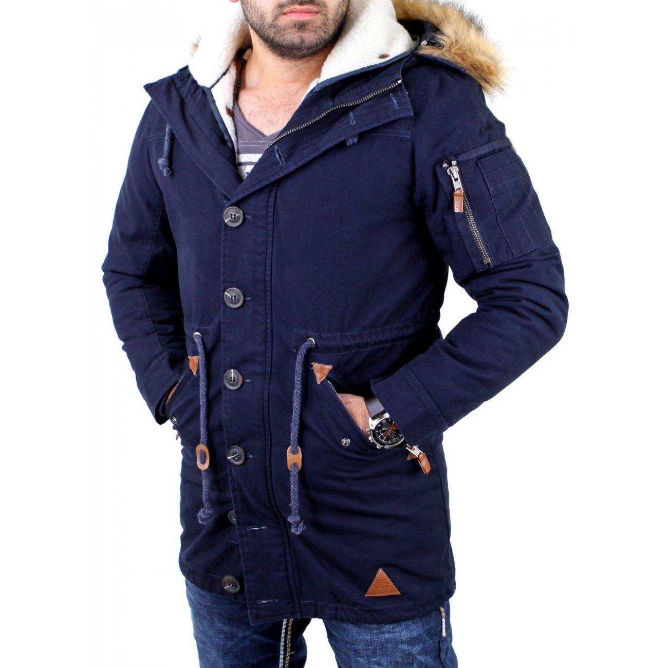 vsct herren clubwear luxury parker winter mantel jacke v. Black Bedroom Furniture Sets. Home Design Ideas