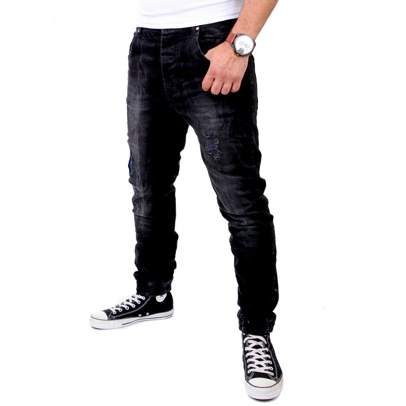 vsct herren jeans hose noah black vintage schwarz. Black Bedroom Furniture Sets. Home Design Ideas