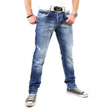 Cipo & Baxx C-1068 Distressed Style Jeans Blau