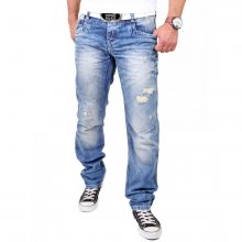 Cipo & Baxx Herren Jeans Destroyed Look Regular Fit...