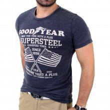 Goodyear Herren SAN JOSE Slim Fit T-Shirt GY-400128...