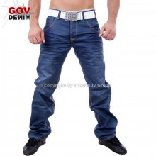 Gov Denim TD-3203 Blue Denim Jeans Hose blau