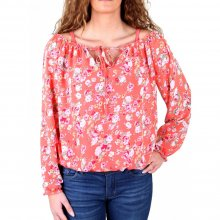 Madonna Langarmshirt Damen SOLE 2in1 Flower Allover...