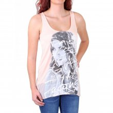 Madonna Top Damen ROMAINE Longform Potrait Print...