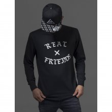 Mister Tee Sweatshirt Herren REAL FRIENDS Crewneck...