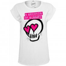 Mister Tee T-Shirt Damen 5 SECONDS OF SUMMER Skull Shirt...