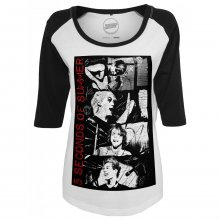 Mister Tee T-Shirt Damen 5 Seconds of Summer Raglan Shirt...