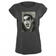 Merchcode T-Shirt Damen ROBBIE WILLIAMS CLOWN Print Shirt...