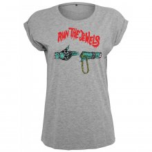 Merchcode T-Shirt Damen RUN THE JEWELS Print Kurzarm...