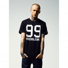 Mister Tee T-Shirt Herren 99 Problems Print Kurzarm Shirt...