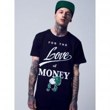 Mister Tee T-Shirt Herren FOR THE LOVE Motiv Print Shirt...