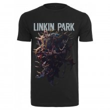 Merchcode T-Shirt Herren LINKIN PARK HEARTH Kurzarm Shirt...