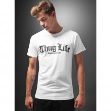 Mister Tee T-Shirt Herren THUG LIFE OLD ENGLISH Print...