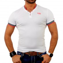 Redbridge Herren V-Neck Kontrast T-Shirt RB-1601