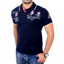 Redbridge Poloshirt Herren Casual Club Wear Kurzarm Shirt...