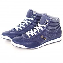 Reslad Sneaker Herren Used Vintage Denim Jeans Look High...