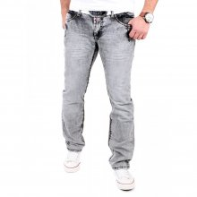 Rusty Neal Jeans Herren Burned Wash Style Jeanshose...