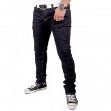 Tazzio Herren Jeans Slim Fit Denim Hose TZ-500 Dunkelblau W34/L32