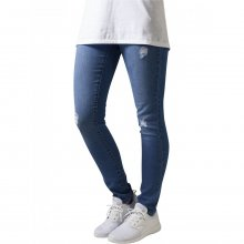 Urban Classics Hose Damen Ripped Destroyed Look Denim...