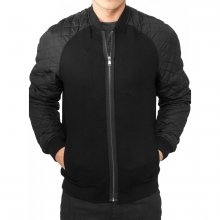 Urban Classics Jacke Herren Diamond Nylon Wool...