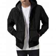 Urban Classics Jacke Herren Hooded Big Diamond Quilt...