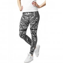 Urban Classics Leggings Damen Ornament Print Damenhose...
