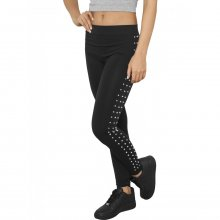 Urban Classics Leggings Damen Side Rivets Nieten...