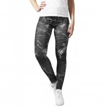 Urban Classics Leggings Damen Sprinkled Fitted Look...