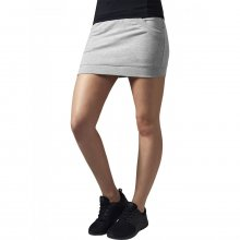 Urban Classics Rock Damen French Terry Damenrock mit...