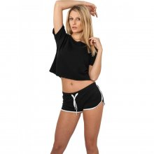 Urban Classics Shorts Damen French Terry Slim Fit...