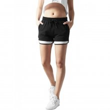 Urban Classics Shorts Damen Terry Mesh Kontrast Look...